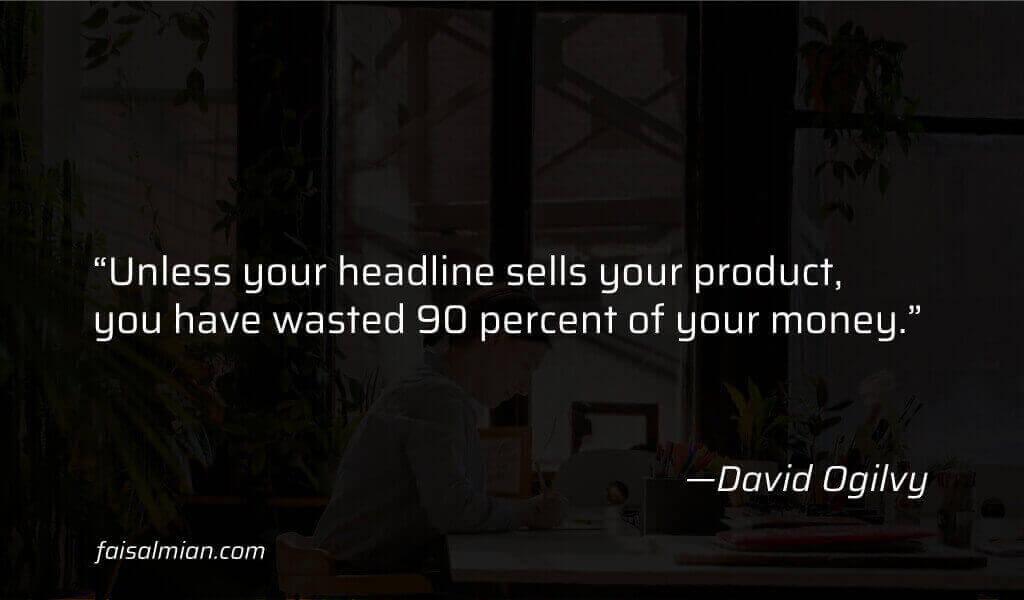 SEO Content Writing vs Copywriting - David Ogilvy