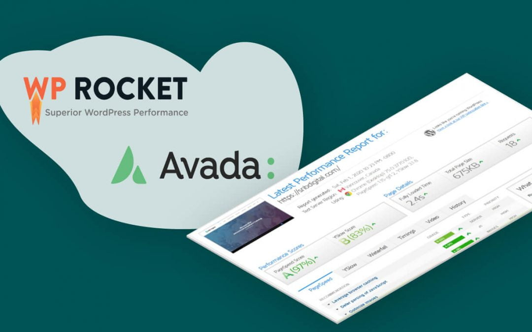 Avada Theme Optimization with the Wp-Rocket plugin: 95+ speed score with Google Page Speed Insight