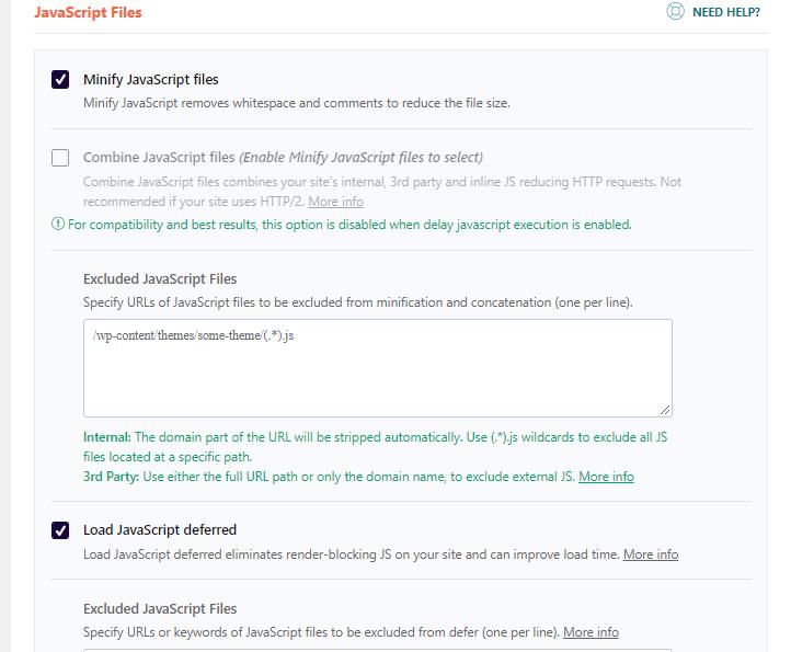 File Optimization - Javascript Minification